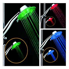 LED Zuhanyfej fény Víz Érzékelő