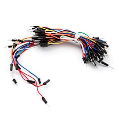 elektronika diy lutowania mniej elastyczne przewody rozruchowe breadboard kablowe 65pcs