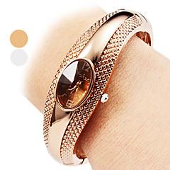 Mulheres Relógio de Moda Bracele Relógio Relógio Casual Quartzo Lega Banda Bracelete Elegantes Prata Bronze