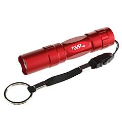 Latarki LED Latarki ręczne LED 100 Lumenów 1 Tryb Nie zawiera baterii Taktyczny na Do użytku codziennego Black Brown Czerwony Niebieski
