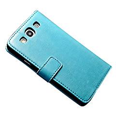 Για Samsung Galaxy Θήκη Πορτοφόλι / Θήκη καρτών / με βάση στήριξης / Ανοιγόμενη / Μαγνητική tok Πλήρης κάλυψη tok ΜονόχρωμηΣυνθετικό