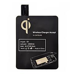 Negru Qi standard de încărcare wireless receptor frana pentru Samsung Galaxy S4