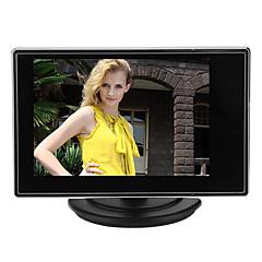 3,5 tuuman TFT-lcd-säädettävä näyttö CCTV-kameraan, jossa on AV-videotulo