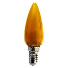 0.5w e14 led kaarslicht c35 8 dip led 50 lm koel wit / blauw / geel / groen / rood decoratief ac 220-240 v