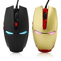 6δ gaming οπτικό ποντίκι 2400dpi 7 οδήγησε χρώματα μετατόπιση αυτόματα