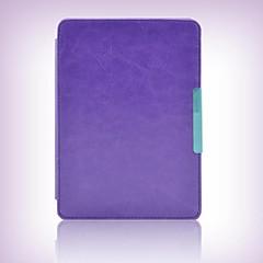 caso capa de couro estilo titular lado tímido urso ™ para Amazon Kindle Paperwhite 6 polegadas ebook