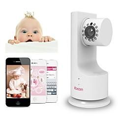 ibcam otthoni vezeték nélküli IP hálózati wifi biztonsági kamera baba p2p zenét játszanak, kétirányú beszélgetés