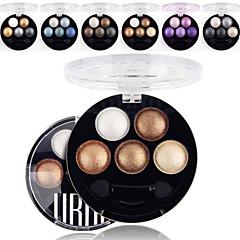 5 színben ubub szakmai sült 3in1 matt&csillám&csillogó metál színű szemhéjfesték por kozmetikai paletta