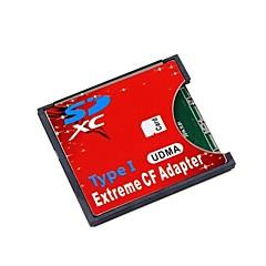 sd sdhc sdxc yüksek hızlı aşırı kompakt flaş cf türü i 16/32/64/128 gb için adaptör