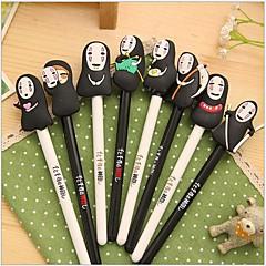 Chihiro Szellemországban maszk férfi fekete tintával zselés toll (1 db véletlenszerű szín)