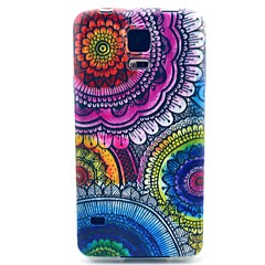virágmintás TPU puha tok Samsung Galaxy S3 / S3 mini / S4 / S4 mini / S5 / S5 mini