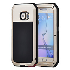 Samsung Galaxy s6 esetben alumínium vízálló ütésálló hátlap gorilla üveg esetében s5 s4 s3