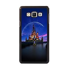 Na Samsung Galaxy Etui Etui Pokrowce Wzór Etui na tył Kılıf Widok miasta PC na Samsung A8 A7 A5 A3