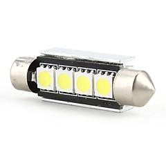 42mm 4 SMD LED wit licht lamp