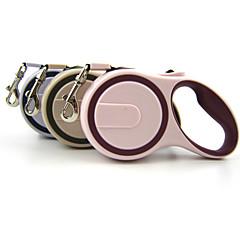 Köpekler Tasma Kayışı Su Geçirmez / Ayarlanabilir/İçeri Çekilebilir / Otomatik Video Sistemi Pembe / Gri / Bej Naylon / Kauçuk