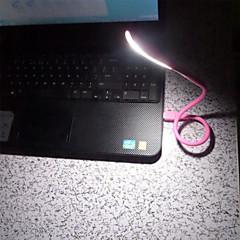 휴대용 미니 유연한 디 밍이 가능한 USB는 PC의 노트북 컴퓨터 키보드 전원 은행 독서 빛 야간 조명을 주도