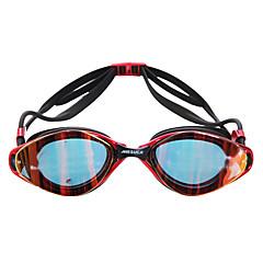MESUCA Úszás Goggles Páramentesítő Vízálló Állítható méret Szilícium-dioxid gél PC Rózsaszín Fekete Kék Rózsaszín Fekete Kék
