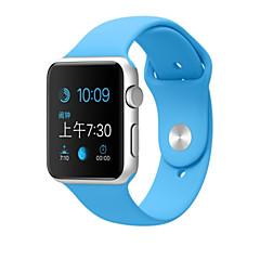Pas sportowy do zegarków jabłkowych 38mm 42mm silikonowy zegarek zastępczy