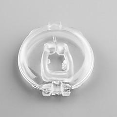 dispositivo ronco rolha nariz clipe anti ajuda ronco ímãs silicone ronco nariz livre clipe de silicone
