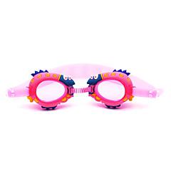 Úszás Goggles Páramentesítő Vízálló Szilícium-dioxid gél PC Piros Rózsaszín Kék Sötétkék Piros Rózsaszín Kék Sötétkék