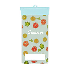 μοτίβο φρούτα καρτούν κινητό τηλέφωνο αδιάβροχη τσάντα για το iPhone 7 6s 6 συν