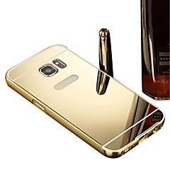 Voor Beplating / Spiegel hoesje Achterkantje hoesje Effen kleur Hard PC Samsung A9 / A8 / A7 / A5 / A3