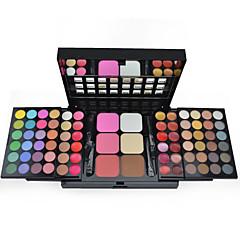 78 Oogschaduwpalet Droog / Mat / Glinstering / Mineraal Oogschaduw palet Poeder Grote Dagelijkse make-up / Feeërieke make-up