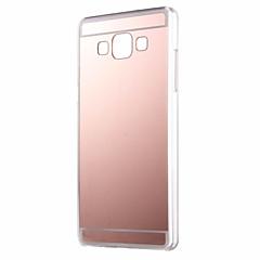 Samsung Galaxy a7 A710 tükör esetén puha TPU hátlap Samsung Galaxy a3 a5 a7 2016