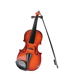 plastikowe brązowe symulacji dziecko skrzypce dla dzieci powyżej 3 instrumentów muzycznych zabawki