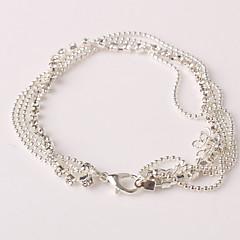 Dame Brățară Gleznă/Brățări Ștras Diamante Artificiale Aliaj Design Unic La modă Multistratificat costum de bijuterii Bijuterii Bijuterii