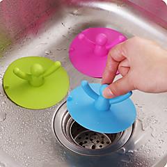 csésze fedelét szilikon medencevíz dugulás dugó konyha fürdőszoba szag csatorna fedél véletlenszerű szín
