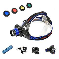 Bisiklet Işıkları,Ön Lambalar / Baş Lambaları / Bisiklet Işıkları-3 Kip 1200 Lümenayarlanabilir odak / Su Geçirmez / Şarj Edilebilir /