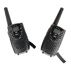 mini walkie talkie (1 pár) a fülhallgató csatlakozó UHF 446mhz akár 6km PMR t667 twin walkie talkie gyerekeknek