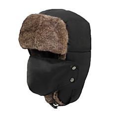 귀덮개 모자 털/모피 모자 스키 모자 남성용 여성용 보온 스노우보드 폴리에스터 스키 캠핑 & 하이킹 스노우스포츠 다운힐 겨울