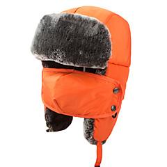 귀덮개 모자 / 털/모피 모자 스키 모자 여성의 / 남성의 / 아이의 보온 스노우보드 폴리에스터 옐로우 / 레드 / 핑크 / 블랙 / 블루 스키 / 캠핑 & 하이킹 / 스노우스포츠 / 다운힐 겨울 스포츠