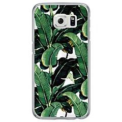 For Samsung Galaxy S7 Edge Ultratyndt / Gennemsigtig Etui Bagcover Etui Mosaik mønster Blødt TPU SamsungS7 edge / S7 / S6 edge plus / S6