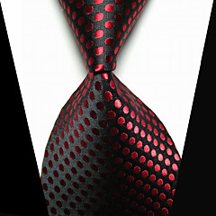 Spinka do karwata Modny biżuteria kostiumowa Czarny Czerwony Materiał Męskie Tie Bar-