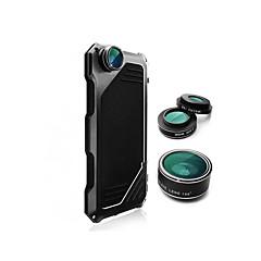 For iPhone 6 etui iPhone 6 Plus etui Stødsikker Etui Heldækkende Etui Helfarve Hårdt Aluminium for AppleiPhone 6s Plus/6 Plus iPhone 6s/6