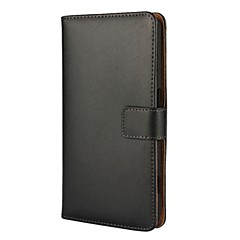 Voor Nokia 6 Case Cover Solid Color Leather Full Body Cover Met Kaart en Stand Case Nokia Lumia 530 Lumia 640 Lumia 950