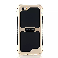 Til iPhone 8 iPhone 8 Plus iPhone 6 iPhone 6 Plus iPhone 5 etui Etuier Vand / Dirt / Shock Proof Bagcover Etui Helfarve Hårdt Metal for