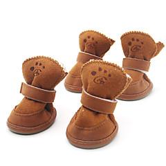 Schattige Klitteband Schoenen Voor Honden (XS-XL, 4 stuks)