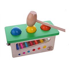 Verlicht stress / Practical joke Gadget Ontspannende hobby's Speeltjes Vierkant Hout Grijs Voor jongens / Voor meisjes