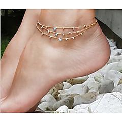 Dames Enkelring /Armbanden Legering Dubbelzijdig Europees Met de hand gemaakt Kostuum juwelen Sieraden Voor Dagelijks Causaal Strand