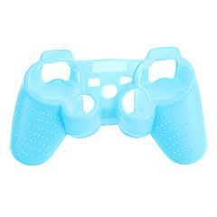 PS3-controller Noctilucent beschermhoes Silicone Skin tas