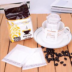 φορητό γαλλικού καφέ χάρτινο φίλτρο καφέ φίλτρου τσάντα φίλτρο αφρού, που 50