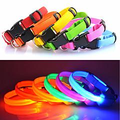 9Protecollar - Säädettävä LED koiran kaulapanta (25 - 35cm, paristot sisältyvät hintaan)