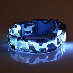 Yakalar LED Işıklar Ayarlanabilir/İçeri Çekilebilir kamuflaj Naylon