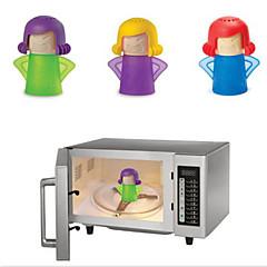 aranyos dühös mama típusú háztartási tisztító eszközök gőztisztító használt mikrohullámú sütő 11 * 13.5cm
