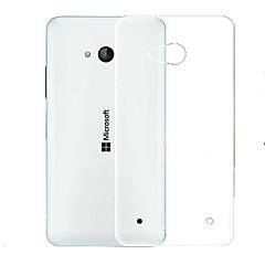 For Nokia etui Ultratyndt Transparent Etui Bagcover Etui Helfarve Blødt TPU for Nokia Nokia Lumia 930 Nokia Lumia 640 Nokia Lumia 630