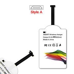 mindzo stil-un standard de qi 5v1a receptor încărcător fără fir pentru toate Android micro USB stil-un smartphone